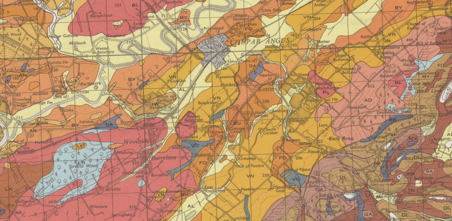 Soil Survey of Scotland 1:63 360 scanned maps